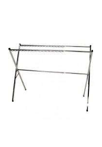 MHT108E Extendable Stainless Steel Laundry Floor Hanger (Silver)