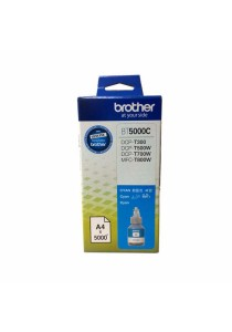 BROTHER Ink BT5000C Cyan for Printer DCP-T300, DCP-T500W, DCP-T700W, MFC-T800W