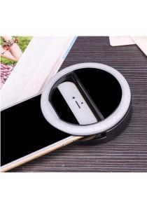 Selfie Ring Light (Rechargeable) - Black