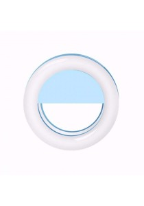 Selfie Ring Light (Rechargeable) - Blue