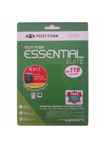 Kaspersky Tech Titan Essential Suite 4-in-1 2017 - 3 Users