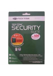 Kaspersky Tech Titan Security Suite 4in1 2017 - 1 Users