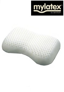 My Latex Rubber Foam Pillow (Bean Shape)