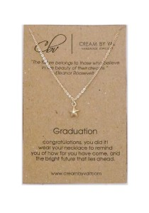 Cream By Val - Silver Star Necklace