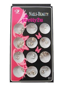Nail Accessories Metal Deco 2