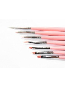 Nail Art Line Brush Set for Drawing Line 7 pieces
