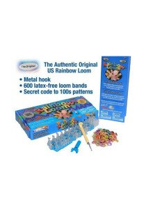 ASOTV Rainbow Loom Complete Package with Metal Hook (Free 1800 Refill Bands) [RN6]