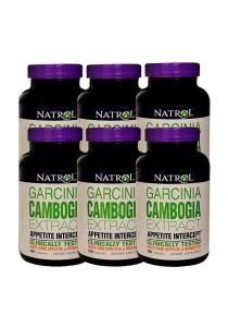 Natrolgarcinia Cambogia Extract Appetite Intercept 720 Capsules