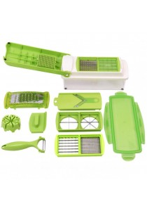 Nicer Dicer: Precision Food Chopper with Interchangeable Blades
