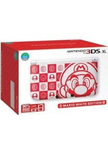 Nintendo 3DS XL Mario White Edition (3DS XL)