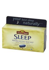 Nature Made Sleep All Natural Sleep Aid Drug Free