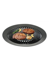 Non-Stick Smokeless Round Grill Top