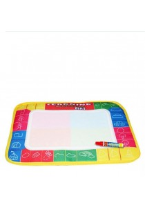 Novelty Water Drawing Painting Writing Mat Board + Magic PenDoodleToy Gift for Kids Childen