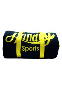 Handry NT1480 Travelling Gym Bag (Black Yellow)