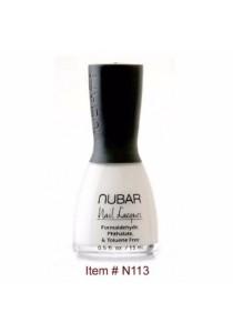 Nubar Nail Polish - White Tip (15ml)