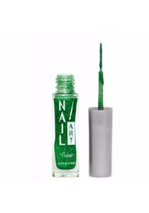 Nubar Nail Striper Art Pen - Grass Green Glitter (8.8ml)