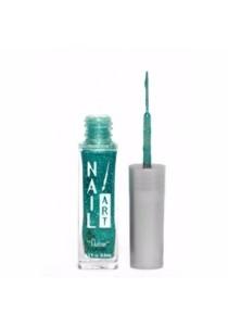 Nubar Nail Striper Art Pen - Teal Glitter (8.8ml)