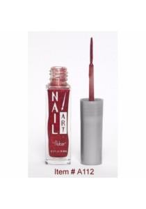 Nubar Nail Striper Art Pen - Red Glitter (8.8ml)