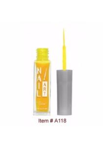Nubar Nail Striper Art Pen - Neon Yellow (8.8ml)