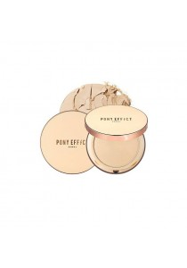 PONY EFFECT Skin Fit Powder Pact #Nude Beige 12g