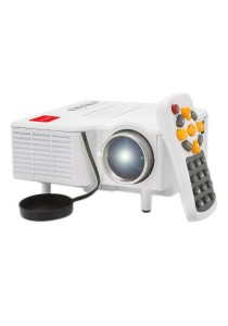 iGLITTERS i20 LED Mini Projector (White)