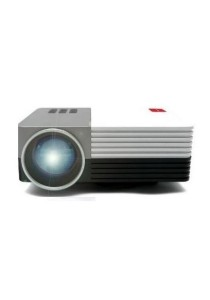 iGLITTERS i50 LED Mini Projector (White)