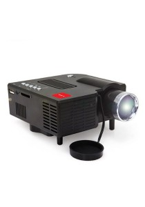 iGLITTERS UC28+ LED Mini Projector (White)