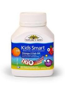 Nature's Way Omega 3 Fish Oil (Kids) 60 Capsules