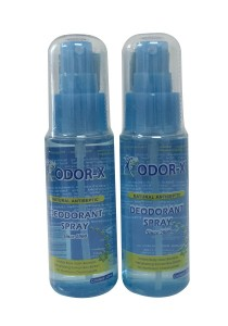 [Twinpack] Odor-X Deodorant Spray 60ml