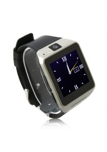 GV08 Watch Phone Quad Band 1.54 Inch Bluetooth BT Dailer Camera Black