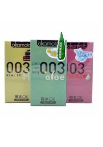 OKAMOTO 003 3-in-1 Condom 18's Pack
