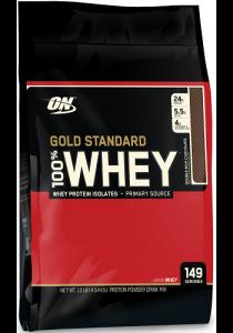 Optimum Nutrition Gold Standard 100% Whey, Chocolate, 10lbs