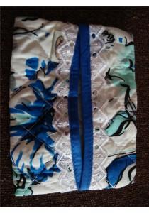 Naraya Tissue Bag - Blue Flower