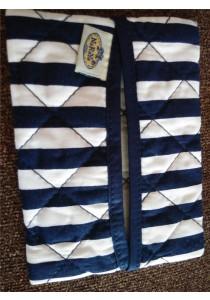 Naraya Tissue Bag - Blue & White Lining