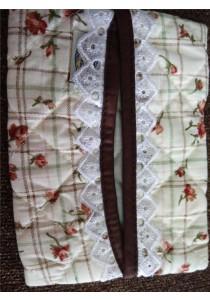 Naraya Tissue Bag - Vintage Little Flower