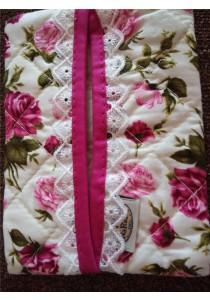 Naraya Tissue Bag - Rose Flower