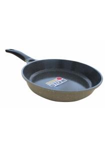 Lock & Lock Stone Marble Ceramic 28cm Frying Pan