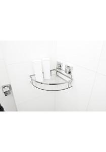 Smartloc Corner Bathroom Rack