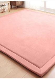 Japanese Styles: Tatami Floor Carpet- Pink Rose