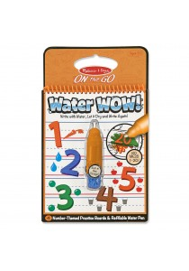 Water Wow Reusable Kid's Water Painting Kit - Number