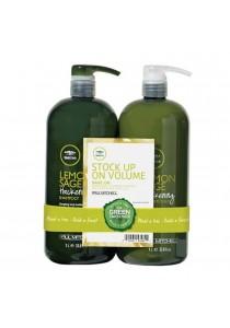 Paul Mitchell Lemon Sage Shampoo & Conditioner 1liter Value Set