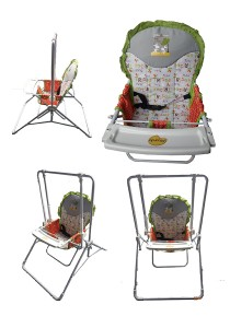PICARDO 'Genie' 2 in 1 Baby Swing
