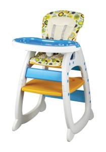 Picardo 'Groovy' 2in1 High Chair (Polka Dot)