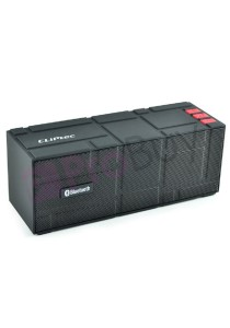 CLiPtec PBS353 COLOR-Beat Portable Bluetooth Speaker - Black