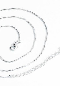 OUXI Platinum Plated Chains Necklace - PCN001