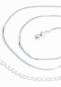 OUXI Platinum Plated Chains Necklace - PCN002