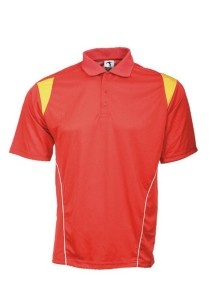 Microfibre Polo T Shirt PCT 11 (Red)