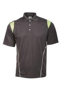 Microfibre Polo T Shirt PCT 13 (Charcoal)