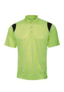 Microfibre Polo T Shirt PCT 14 (Neon Green)