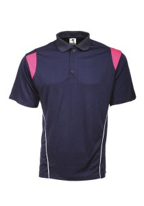 Microfibre Polo T Shirt PCT 15 (Navy Blue)